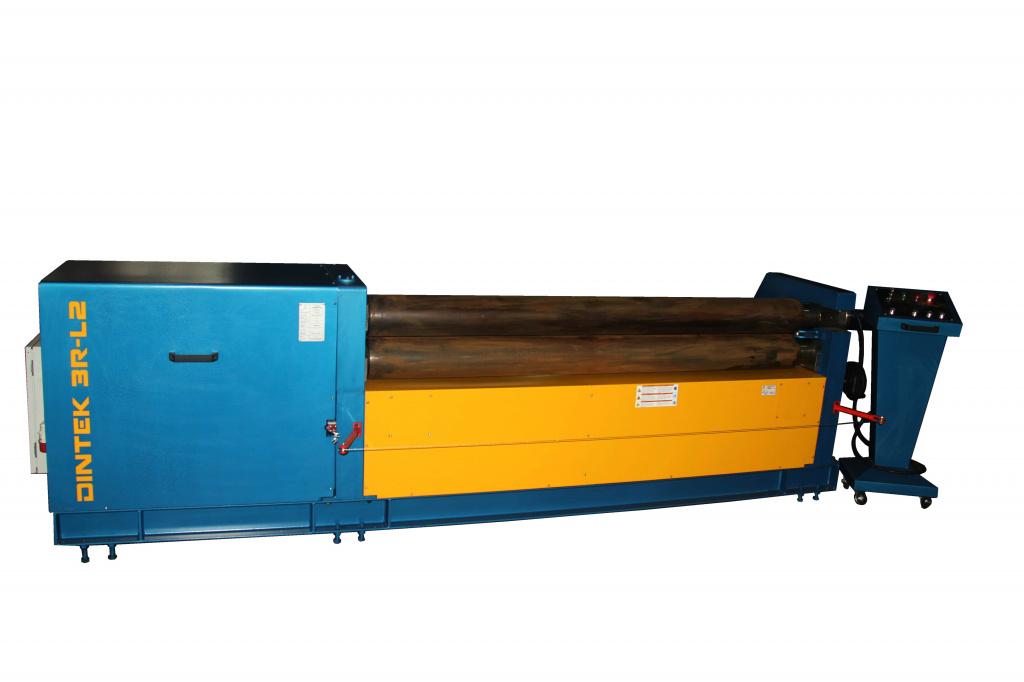 Трехвалковый механический листогиб Dintek 3R-L2